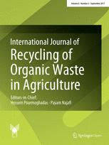 International Journal of Recycling of Organic Waste in Agriculture