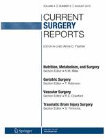 Current Surgery Reports