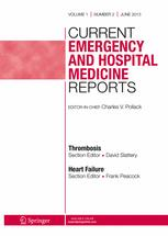 Current Emergency and Hospital Medicine Reports