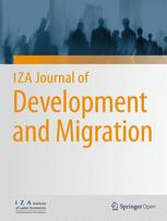 IZA Journal of Development and Migration