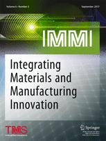 Integrating Materials and Manufacturing Innovation 3/2017