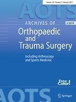 Archiv für orthopädische und Unfall-Chirurgie, mit besonderer Berücksichtigung der Frakturenlehre und der orthopädisch-chirurgischen Technik