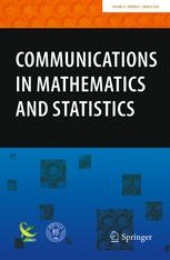 Communications in Mathematics and Statistics