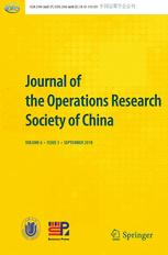 Journal of the Operations Research Society of China