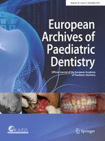 European Archives of Paediatric Dentistry
