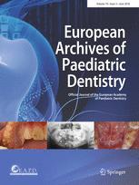 European Archives of Paediatric Dentistry
