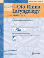 European Archives of Oto-Rhino-Laryngology