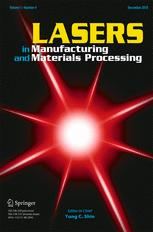 Lasers in Manufacturing and Materials Processing