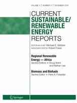 Current Sustainable/Renewable Energy Reports