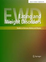 Eating and Weight Disorders - Studies on Anorexia, Bulimia and Obesity