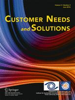 Customer Needs and Solutions