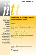 Information Technology & Tourism