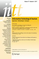 Information Technology & Tourism