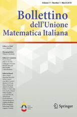 Bollettino dell'Unione Matematica Italiana