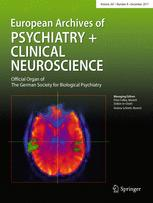 European Archives of Psychiatry and Clinical Neuroscience 8/2017