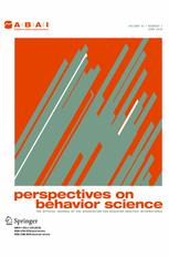 Perspectives on Behavior Science