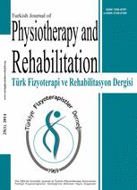 Türk Fizyoterapi ve Rehabilitasyon Dergisi/Turkish Journal of Physiotherapy and Rehabilitation