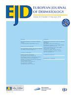 European Journal of Dermatology
