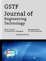 GSTF Journal of Engineering Technology (JET)