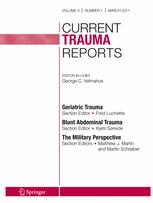 Current Trauma Reports