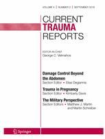 Current Trauma Reports