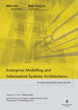 Enterprise Modelling and Information Systems Architectures 1/2012