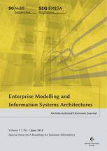 Enterprise Modelling and Information Systems Architectures 1/2014