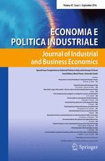Economia e Politica Industriale