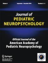 Journal of Pediatric Neuropsychology