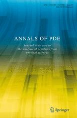 Annals of PDE