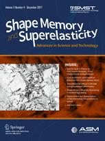 Shape Memory and Superelasticity