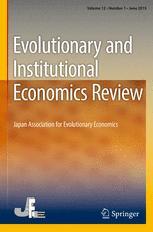 Evolutionary and Institutional Economics Review