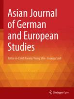 Asian Journal of German and European Studies