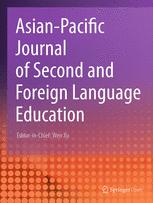 Asian-Pacific Journal of Second and Foreign Language Education