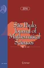 São Paulo Journal of Mathematical Sciences