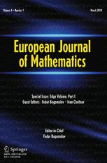 European Journal of Mathematics