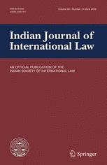 Indian Journal of International Law