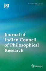 Journal of Indian Council of Philosophical Research