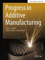 Progress in Additive Manufacturing