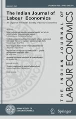 The Indian Journal of Labour Economics