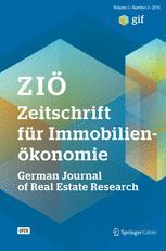 Zeitschrift für Immobilienökonomie