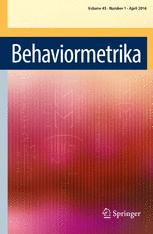 Behaviormetrika