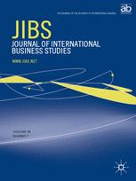 Journal of International Business Studies