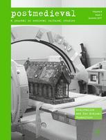 postmedieval: a journal of medieval cultural studies
