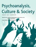 Psychoanalysis, Culture & Society