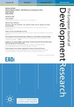The European Journal of Development Research