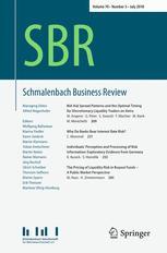 Schmalenbach Business Review