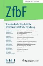 Schmalenbachs Zeitschrift für betriebswirtschaftliche Forschung