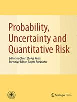 Probability, Uncertainty and Quantitative Risk