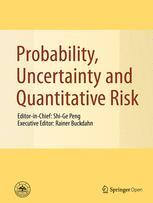 Probability, Uncertainty and Quantitative Risk
